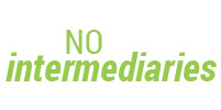No Intermediaries!