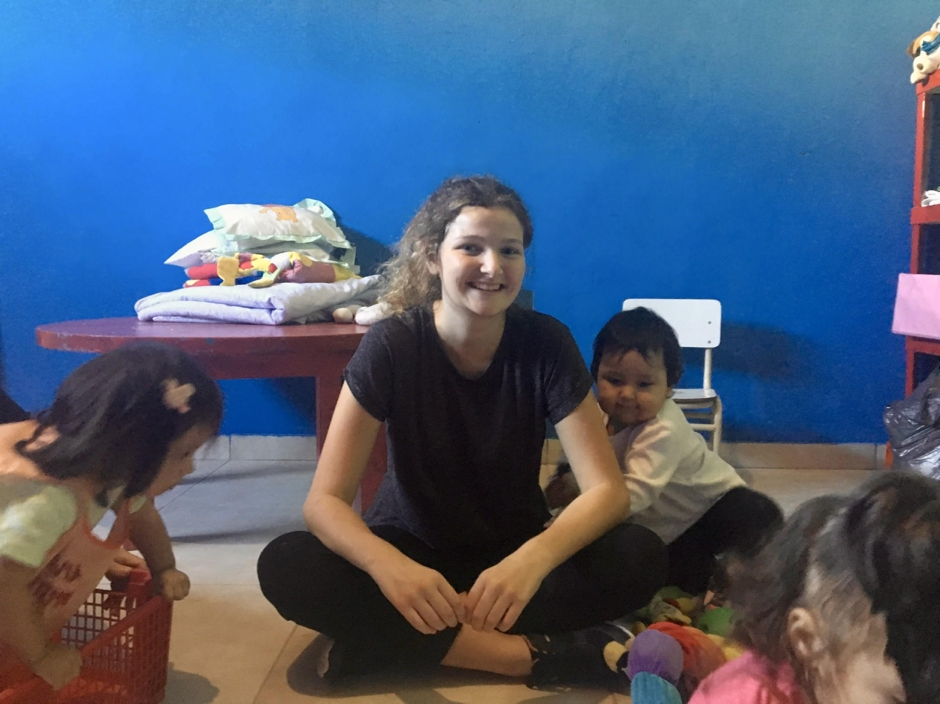 Interview with Rosanna: Volunteering in the Kindergarten